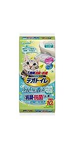 デオトイレ 1週間消臭・抗菌ふんわり香るシート ナチュラルガーデンの香り
