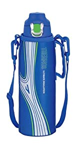 サーモス 真空断熱スポーツボトル 1.0L ブルー FFF-1000F BL
