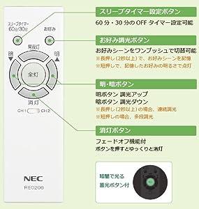 調光リモコン RE0206
