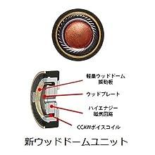 JVC ハイレゾイヤホン WOODシリーズ HA-FW01