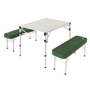 ピクニックテーブルセット オールインワンテーブル&ベンチセット