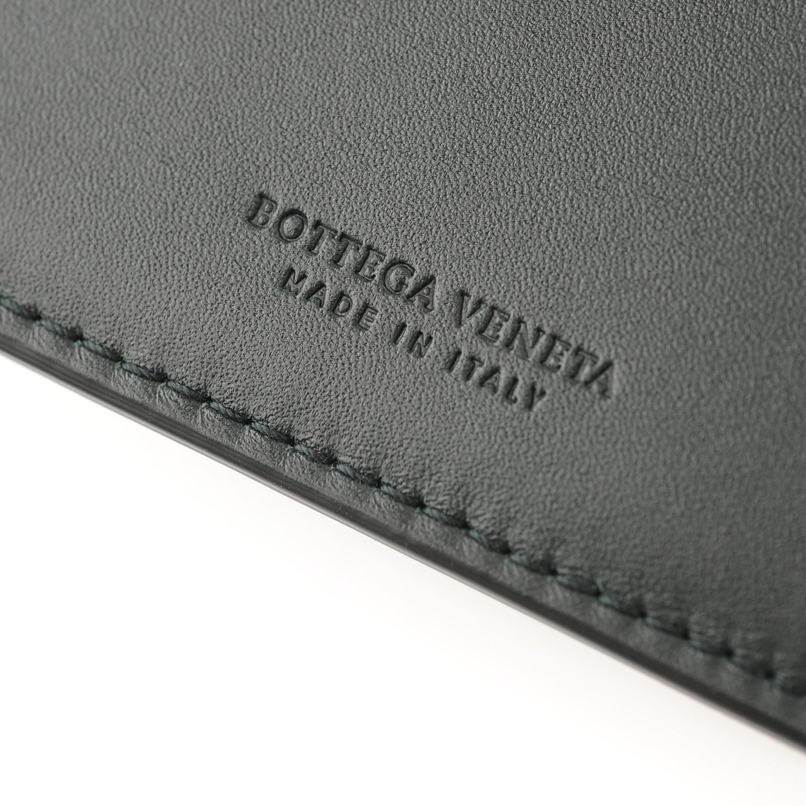 BOTTEGA VENETA イントレチャート 二つ折り財布