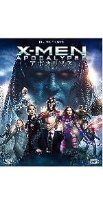 X-MEN:アポカリプス 2枚組ブルーレイ&DVD(初回生産限定)