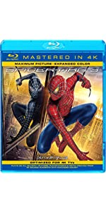 スパイダーマンTM 3(Mastered in 4K) [Blu-ray]