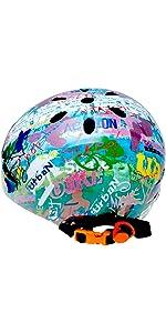 ラングスジャパン(RANGS) ラングスジュニアスポーツヘルメット レインボー(単品)