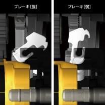 メタニウム 遠心力ブレーキシステム