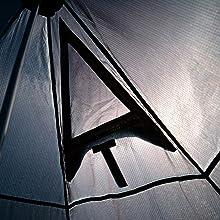 ピルツ7 ブラック - モノポールテント