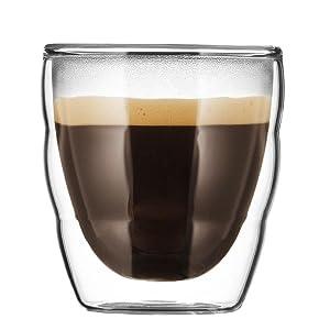 ぼだむ bodum エスプレッソ コーヒー グラス 結露