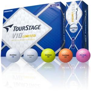 ブリヂストンゴルフ ツアーステージV10 リミテッド ゴルフボール