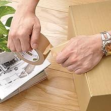 3M スコッチ 梱包用テープ 梱包テープ 布テープ カッター 引っ越し 荷作り 段ボール