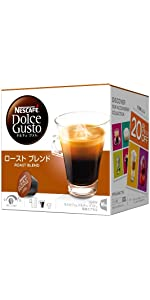 コーヒーカプセル ネスカフェ ドルチェグスト専用カプセル ローストブレンド(ルンゴインテンソ) 16杯分