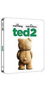 【Amazon.co.jp限定】テッド2 スチール・ブック仕様ブルーレイ+DVDセット