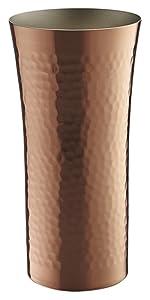 ビールタンブラー 400ml 燕人の匠 純銅製槌目