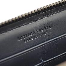 BOTTEGA VENETA ボッテガ・ヴェネタ 財布 ウォレット イントレチャート さいふ サイフ 長財布 ラウンドジップ メンズ レザー 牛革 小銭入れ 札入れ パスポートケース イタリア