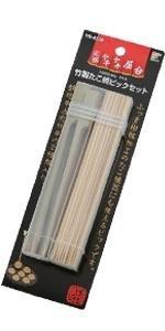竹製たこ焼ピック 丸竹串 鉄砲串