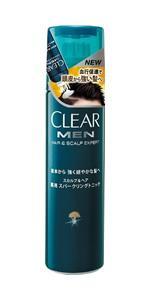 クリアフォーメン 薬用 スカルプ&ヘア スパークリング トニック 【医薬部外品】 130g