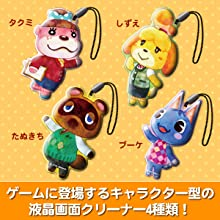 ゲームに登場するキャラクター型の液晶画面クリーナー4種類!
