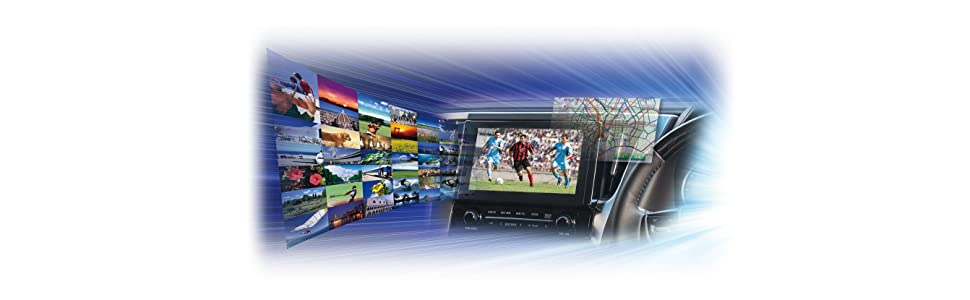 テレビ&ナビキット,TV-NAVI,ビルトイン,走行中,車