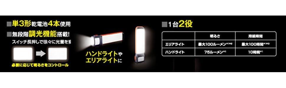 エナジャイザー LEDランタン 2-in-1