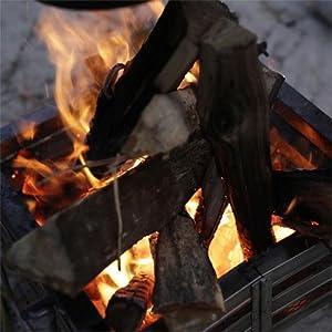 ステンレスファイアープレイス3 高い燃焼効率