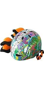 ジュニアスポーツヘルメットレインボー