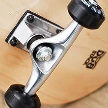 スケートボード ウィール・ブッシュ硬度
