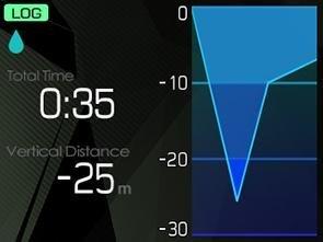 TG-Tracker センシング画面画像3