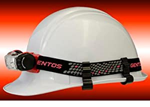 ガンビット 43ETE ヘルメットにヘアバンドで装着