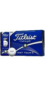 TITLEIST(タイトリスト) NXT Tour S ゴルフボール 12個 2ピース 飛距離&コントロール