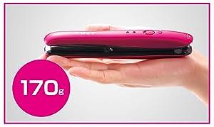 小泉 小泉成器 ミニ 小型 コンパクト 旅行 携帯 小さい ストレート アイロン 留学 出張 まっすぐ 真っ直ぐ ボブ 充電 コードレス 充電式