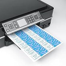 名刺,名刺用紙,名刺作成,カード,自作,手作り,印刷,エーワン