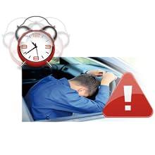 ドライバー疲労警告