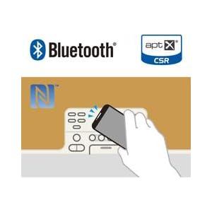 NFC対応で簡単に接続・切断が可能