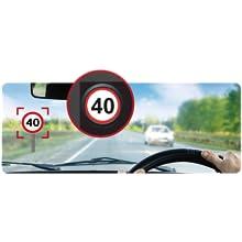 速度制限標識警告
