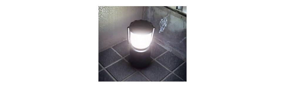 明るい色白LEDランタン