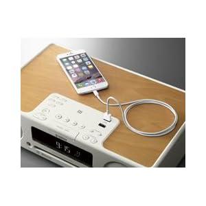 スマートフォンなどの充電が可能なUSB端子も搭載