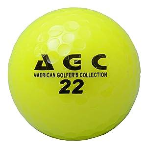 レザイン AGC 2ピースネオンゴルフボール
