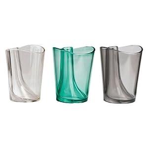 QUALY 歯磨きコップ 歯ブラシスタンド付きタンブラー Flip Cup