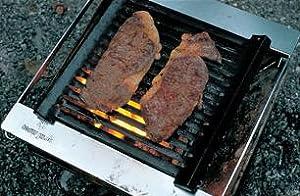 ST-032GB ステーキを焼く
