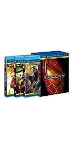 スパイダーマンTM トリロジーBOX (Mastered in 4K) [Blu-ray]