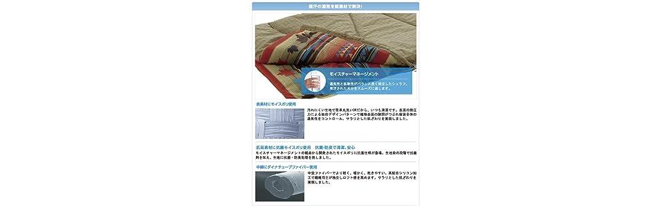 丸洗い寝袋ナバホ・6 湿気対策
