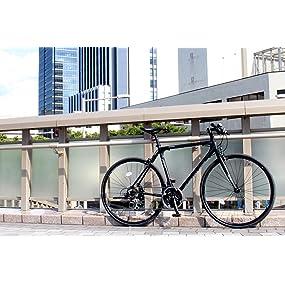フレーム強度とデザイン性を両立したクロスバイク CAC-021 VENUS(ビーナス)