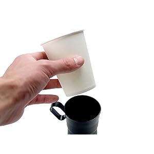 オフィス カップホルダー 紙コップ 便利 安全