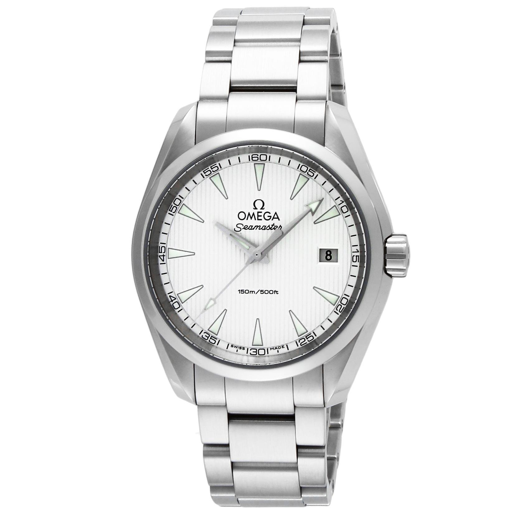 new product 101fc 9514b [オメガ] 腕時計 シーマスターアクアテラ シルバー文字盤 150M防水 231.10.39.60.02.001 並行輸入品 シルバー