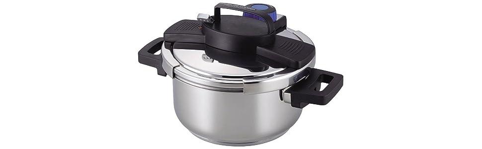 圧力鍋 ワンタッチ ワンタッチ圧力鍋
