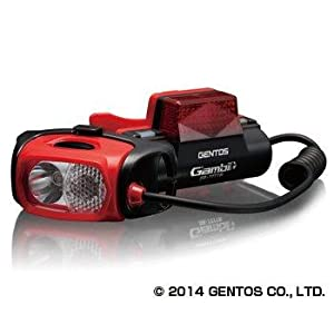 77TTR 明るさ300ルーメンの充電式ヘッドライト。 ヘルメットへダイレクト装着可能。