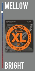 XL Chromes Flat Wound