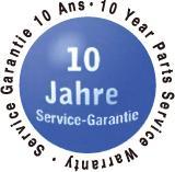 10年間の製造部品、保管保証