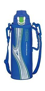 真空断熱スポーツボトル 0.8L ブルー FFF-800F BL