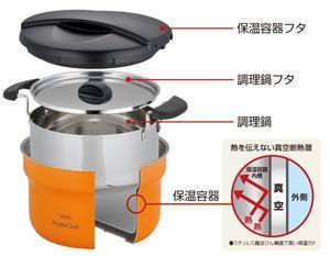 サーモス 真空保温調理器 シャトルシェフ 1.6L KBF-1600